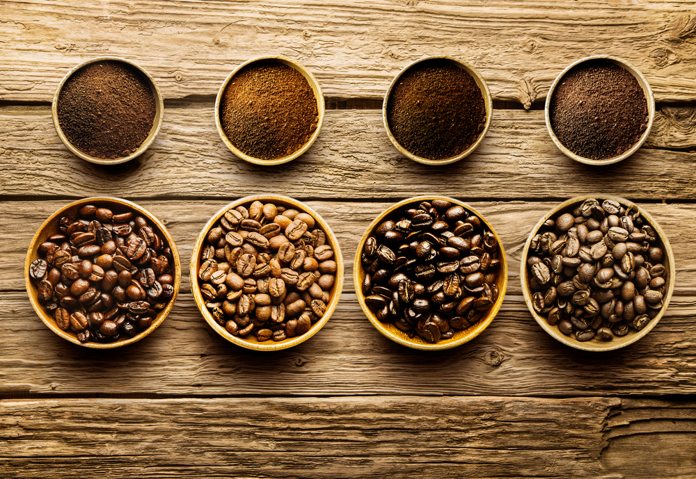 Different-grades-of-roasted-coffeebeans
